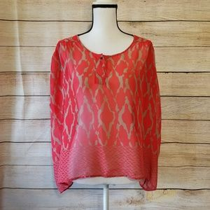 Collective Concepts red blouse (24-011)